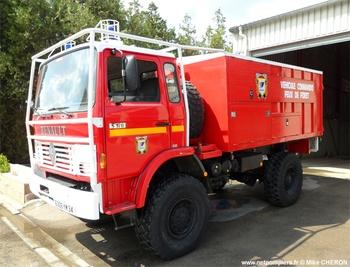 Véhicule commando feux de forêts, Sapeurs-pompiers, Hérault