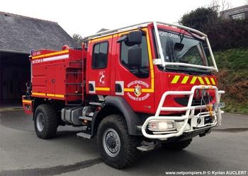 Camion-citerne pour feux de forêts, Sapeurs-pompiers, Finistère (29)