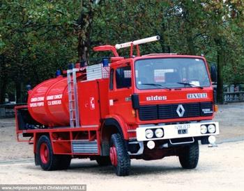 Camion-citerne de grande capacité, Sapeurs-pompiers, Gironde