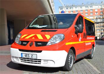 Véhicule d'évacuation sanitaire, Sapeurs-pompiers de Paris,  ()