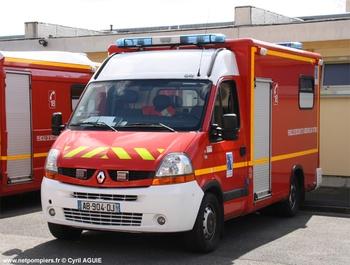 <h2>Véhicule de secours et d'assistance aux victimes - Saint-Quentin - Aisne (02)</h2>
