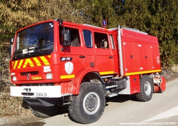 Camion-citerne rural, Sapeurs-pompiers, Isère (38)