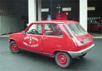 Véhicule de liaison, Sapeurs-pompiers, Rhône