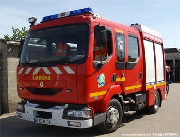 Fourgon-pompe tonne léger, Sapeurs-pompiers, Seine-Maritime (76)