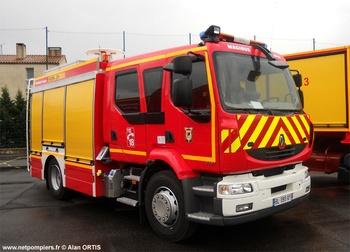 Fourgon-pompe tonne secours routier, Sapeurs-pompiers, Hérault (34)