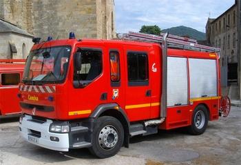 <h2>Fourgon-pompe tonne - Lodève - Hérault (34)</h2>