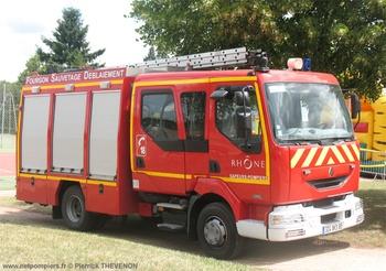 <h2>Véhicule de sauvetage déblaiement - Villefranche-sur-Saône - Rhône (69)</h2>