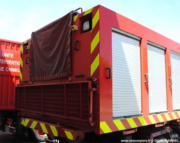 Véhicule porte-cellule, Sapeurs-pompiers, Eure-et-Loir (28)