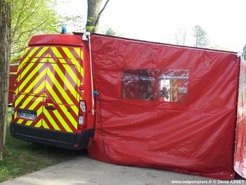 Véhicule de soutien sanitaire, Sapeurs-pompiers, Pas-de-Calais (62)