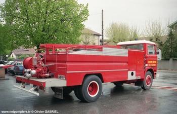 Camion-citerne d'incendie, Sapeurs-pompiers, Drôme (26)