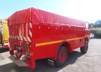 Dévidoir automobile, Sapeurs-pompiers, Oise (60)