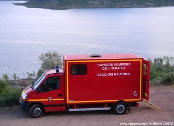 <h2>Véhicule de secours nautique - Montpellier - Hérault (34)</h2>