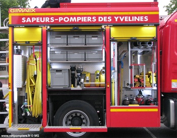 <h2>Fourgon-pompe tonne - Versailles - Yvelines (78)</h2>