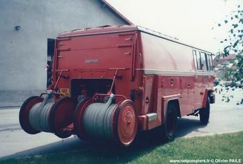 Fourgon-pompe dévidoir de grande puissance, Sapeurs-pompiers, Allier (03)