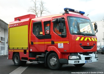 <h2>Fourgon-pompe tonne léger - Bourges - Cher (18)</h2>