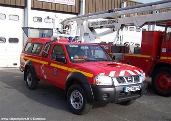 Véhicule de liaison, Sapeurs-pompiers, Val-d'Oise