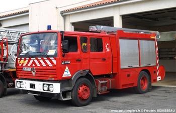 Fourgon-pompe tonne, Sapeurs-pompiers, Vienne (86)