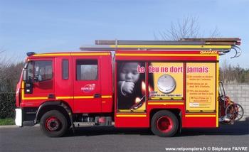 <h2>Fourgon-pompe tonne - Nantes - Loire-Atlantique (44)</h2>
