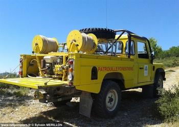 Camion-citerne pour feux de forêts léger, Défense des forêts contre les incendies, Aude