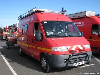 Véhicule de secours nautique, Sapeurs-pompiers, Indre-et-Loire (37)