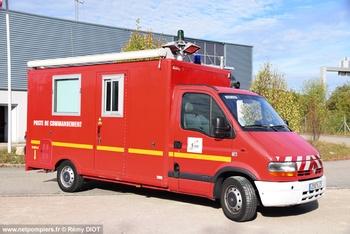 Véhicule poste de commandement, Sapeurs-pompiers, Ain (01)