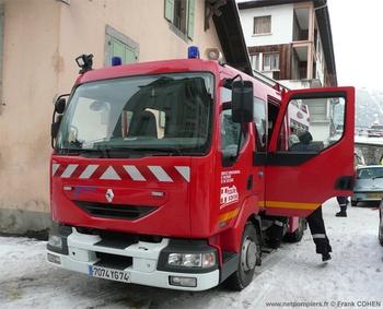 <h2>Fourgon-pompe tonne léger - Sallanches - Haute-Savoie (74)</h2>
