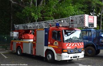 Echelle pivotante, Sapeurs-pompiers, Polynésie-Française (987)
