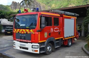 Fourgon-pompe tonne léger, Sapeurs-pompiers, Polynésie-Française (987)