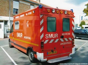 <h2>Ambulance de réanimation - Argenteuil - Val-d'Oise (95)</h2>