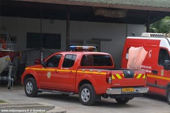 Véhicule de liaison, Sapeurs-pompiers, Polynésie-Française