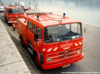 <h2>Fourgon-pompe tonne - Communauté urbaine de Lyon - Rhône (69)</h2>