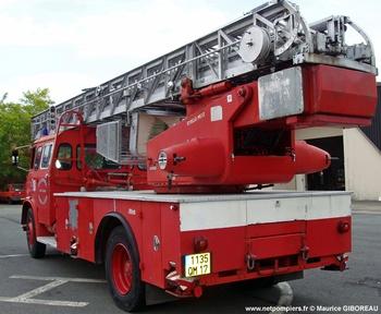 Echelle pivotante, Sapeurs-pompiers, Charente-Maritime (17)
