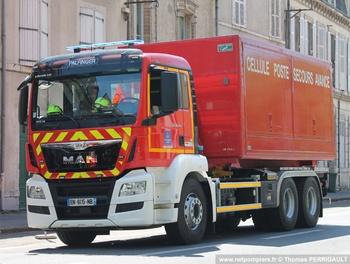 Véhicule porte-cellule, Sapeurs-pompiers, Loiret