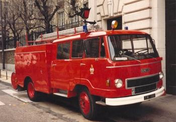 Fourgon mixte, Sapeurs-pompiers de Paris,  ()