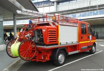 Véhicule de première intervention, Service de sauvetage et de lutte contre l'incendie des aéronefs, Haute-Garonne (31)