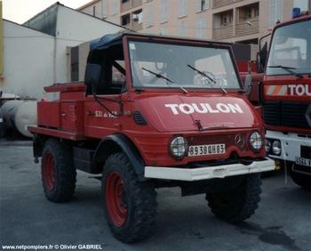 <h2>Camion-citerne pour feux de forêts léger - Toulon - Var (83)</h2>