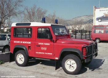 Véhicule de secours en montagne, Sapeurs-pompiers, Var (83)