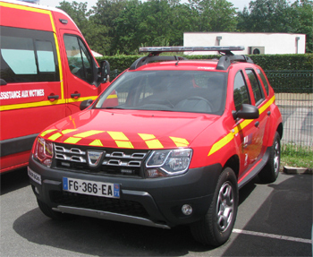 Véhicule de liaison, Sapeurs-pompiers, Saône-et-Loire (71)
