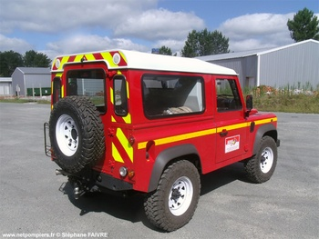 Véhicule de liaison, Sapeurs-pompiers, Gironde (33)