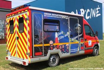 Véhicule d'information du public, Sapeurs-pompiers, Loir-et-Cher (41)