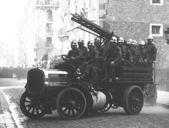 Fourgon-pompe, Sapeurs-pompiers de Paris, Paris (75)