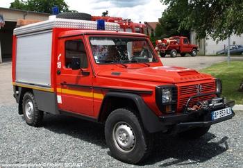 Véhicule de secours routier, Sapeurs-pompiers, Creuse (23)