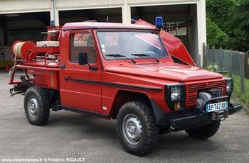 Camion-citerne pour feux de forêts léger, Sapeurs-pompiers, Creuse (23)