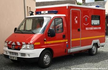 Véhicule de secours et d'assistance aux victimes, Sapeurs-pompiers, Creuse (23)