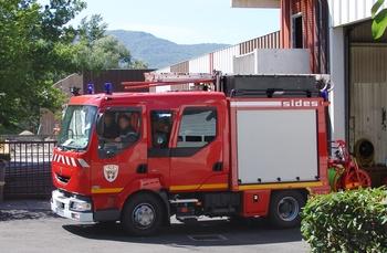 Fourgon-pompe tonne léger, Sapeurs-pompiers, Isère (38)