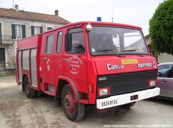 Fourgon-pompe tonne, Sapeurs-pompiers, Dordogne (24)