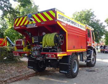 <h2>Camion-citerne pour feux de forêts - Mulhouse - Haut-Rhin (68)</h2>