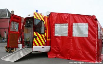 Véhicule de soutien sanitaire, Sapeurs-pompiers, Nord (59)