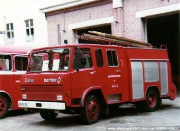 Fourgon-pompe tonne, Sapeurs-pompiers, Nord (59)