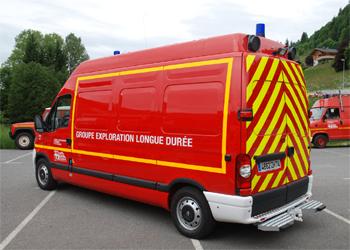 Véhicule d'exploration longue durée, Sapeurs-pompiers, Haute-Savoie (74)